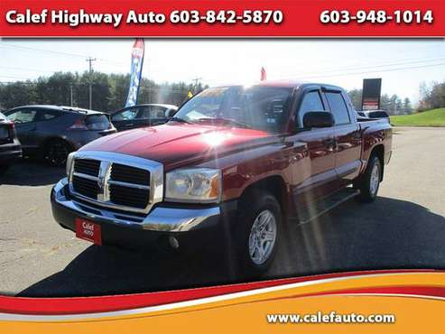 2007 Dodge Dakota SLT Quad Cab 4WD - cars & trucks - by dealer -... for sale in Barrington, NH