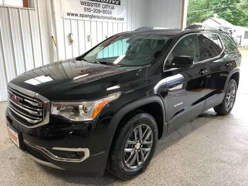 2017 GMC ACADIA SLT*AWD*DUAL MOONROOF*34K*HEATED LEATHER*NAV*MUST SEE! for sale in Webster City, IA