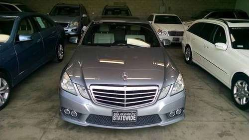 2010 Mercedes E350 - 100% Approval financing for sale in SUN VALLEY, CA