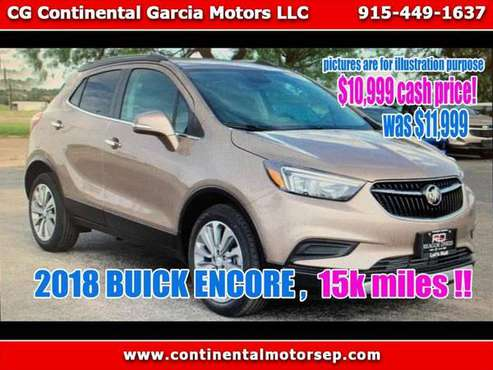 2018 Buick Encore Preferred FWD for sale in El Paso, TX