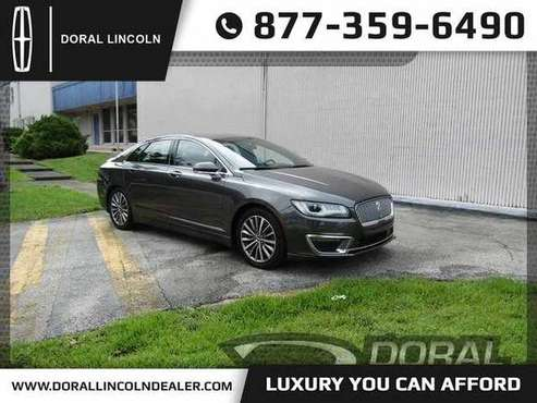 2017 Lincoln Mkz Premiere Quality Vehicle Financing Available for sale in Miami, FL