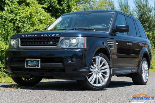 2010 LAND ROVER RANGE ROVER SPORT LUXURY - ALL WHEEL DRIVE - LOADED WI for sale in Neptune City, NJ