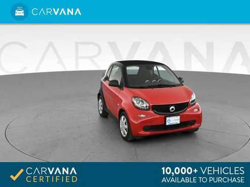 2017 smart fortwo Proxy Hatchback Coupe 2D coupe RED - FINANCE ONLINE for sale in Arlington, VA