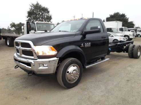 2017 RAM 5500 CAB AND CHASSIS 6.7L CUMMINS TURBO DIESEL - cars &... for sale in San Jose, CA
