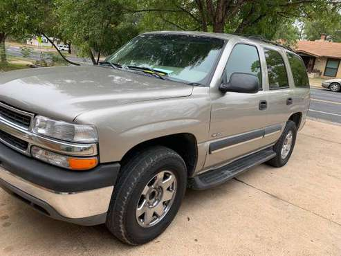 2003 Chevy Tahoe low mileage 166k for sale in Austin, TX