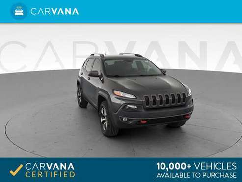 2014 Jeep Cherokee TrailHawk Sport Utility 4D suv Gray - FINANCE for sale in Arlington, District Of Columbia