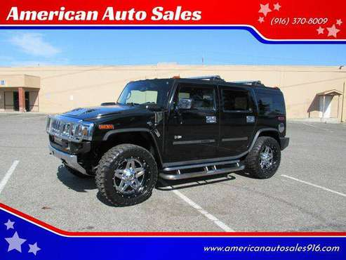 2003 HUMMER H2 Lux Series 4dr 4WD SUV - FREE CARFAX ON EVERY VEHICLE for sale in Sacramento , CA