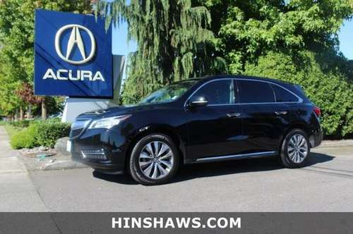 2016 Acura MDX AWD All Wheel Drive SUV for sale in Fife, WA
