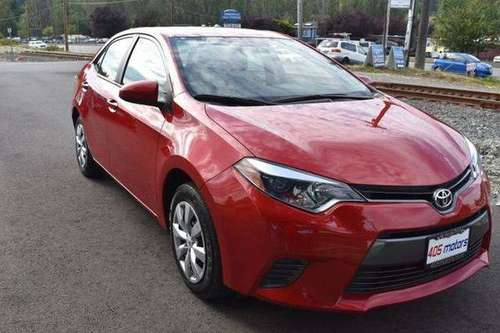 2016 Toyota Corolla LE Model Guaranteed Credit Approval!㉂ for sale in Woodinville, WA