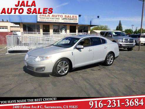 2009 Lincoln MKS ONE OWNER**FULLY LOADED**NAVY**LEATHER**AWD** BAD for sale in Sacramento , CA