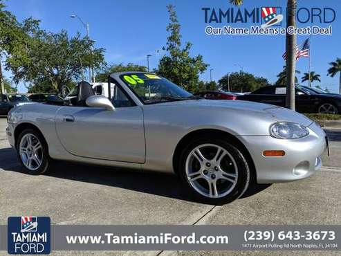 2005 Mazda MX-5 Miata Sunlight Silver Metallic *BUY IT TODAY* for sale in Naples, FL
