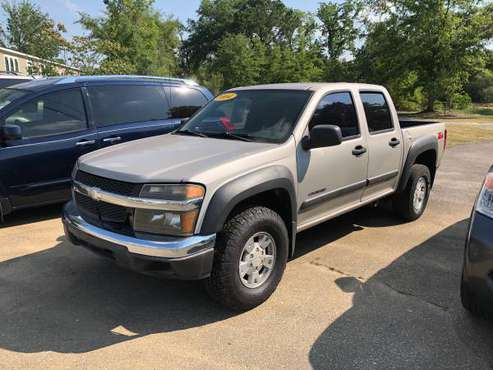 2004 Chevy Colorado Crew Cab with free warranty for sale in Tallahassee, FL