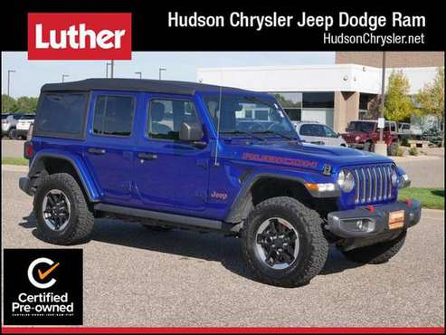2019 Jeep Wrangler Unlimited Rubicon for sale in Hudson, MN