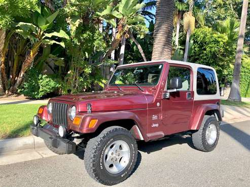 2003 Jeep Wrangler Sahara - Automatic - Sienna Pearlcoat for sale in Culver City, CA