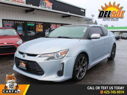 2014 Scion tC Base Bluetooth, Navigation System, Nonsmoker, Great Serv for sale in Everett, WA