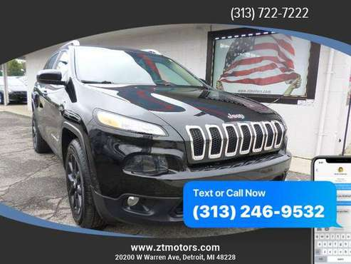 2015 Jeep Cherokee Latitude Sport Utility 4D ***AS LOW AS $495 DOWN!!! for sale in Detroit, MI