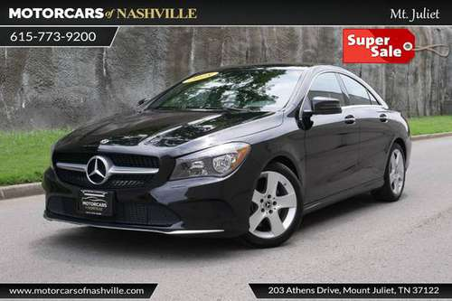 2018 *Mercedes-Benz* *CLA* *CLA 250 4MATIC Coupe* Ni for sale in Mt.Juliet, TN