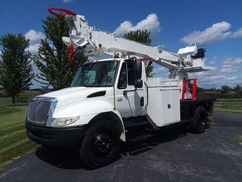 84k Miles 45' International 4300 Digger Derrick Diesel Terex Telelect for sale in Hampshire, TN
