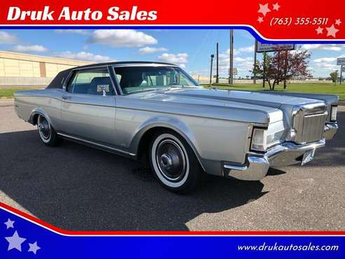 1969 Lincoln Mark III Continental ~RUST FREE~ FINANCING ~ VIDEO for sale in Ramsey , MN
