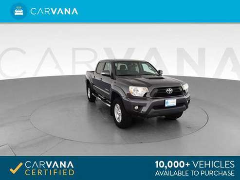 2013 Toyota Tacoma Double Cab PreRunner Pickup 4D 5 ft pickup Gray - for sale in Atlanta, NC