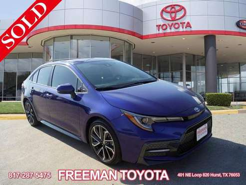 2020 Toyota Corolla XSE -**QUALITY GUARANTEED** **SUPER DEAL** for sale in Hurst, TX