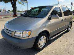 2000 toyota sienna LE 3rd seat zero down $95 per month nice van sale for sale in Bixby, OK