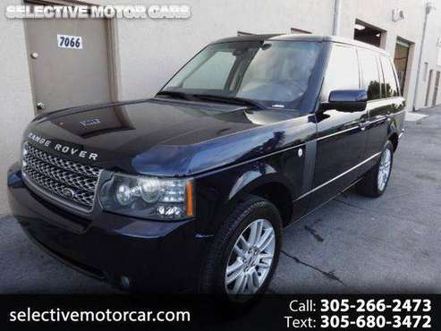 2010 Land Rover Range Rover HSE **OVER 150 CARS to CHOOSE FROM** for sale in Miami, FL