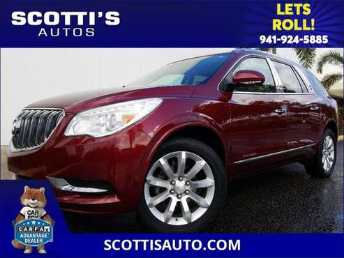 2016 Buick Enclave Premium~3RD ROW SEAT~ NAVIGATION~ DVD~ LOW MILES~... for sale in Sarasota, FL
