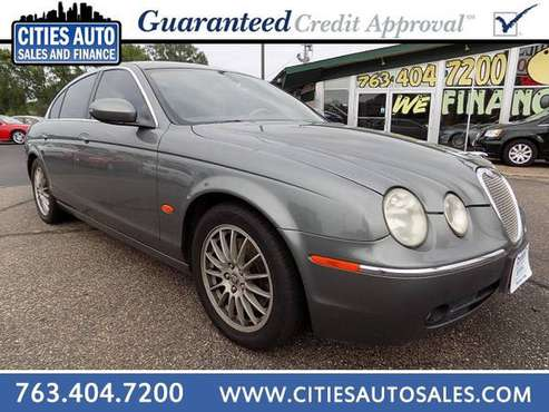 2006 JAGUAR S-TYPE~CLEAN!~EZ GUARANTEED CREDIT APPROVAL! for sale in Crystal, MN