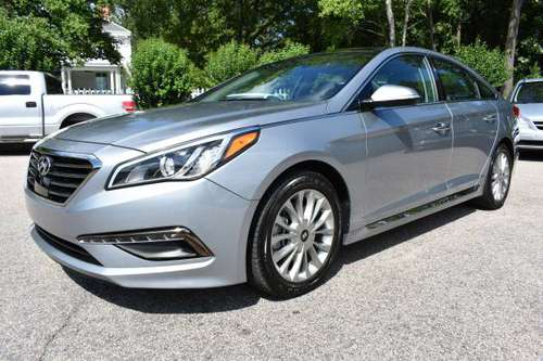 1 Owner 2015 Hyundai Sonata Limited FULLY LOADED Warranty NO DOC FEES! for sale in Apex, NC