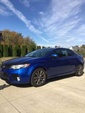 Kia Forte Koup sx 2012 6spd auto for sale in Hinckley, OH