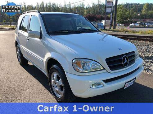 2003 Mercedes-Benz M-Class ML 350 Model Guaranteed Credit Approval! for sale in Woodinville, WA
