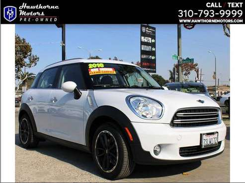 2016 MINI Cooper Countryman Bad Credit, No Credit, New Credit. We... for sale in Lawndale, CA
