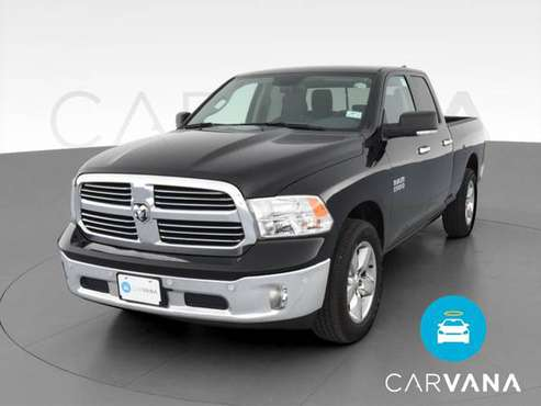 2018 Ram 1500 Quad Cab SLT Pickup 4D 6 1/3 ft pickup Black - FINANCE... for sale in Indianapolis, IN