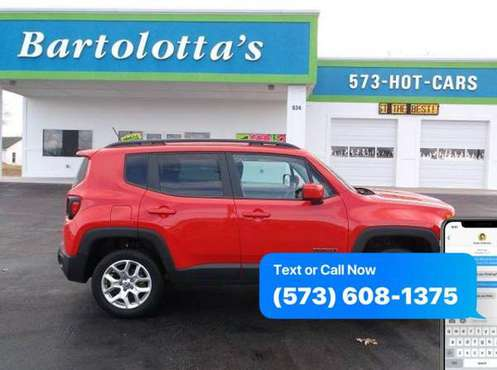 2016 Jeep Renegade Latitude 4WD - CALL/TEXT for sale in Sullivan, MO
