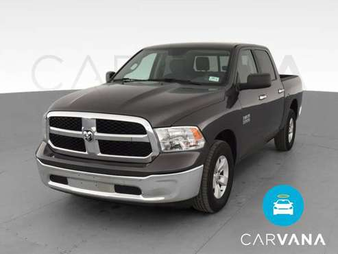 2016 Ram 1500 Crew Cab SLT Pickup 4D 5 1/2 ft pickup Gray - FINANCE... for sale in Raleigh, NC