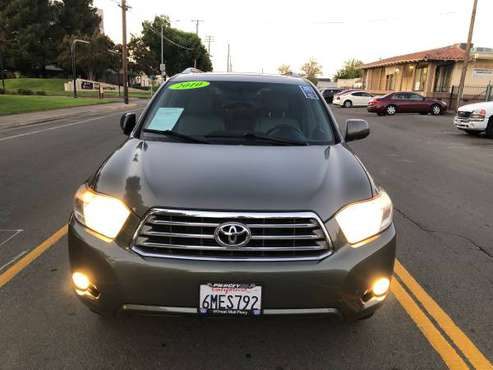 2010 TOYOTA HIGHLANDER LIMITED FWD. POWER LOADED SUPER CLEAN !!! for sale in Sacramento , CA