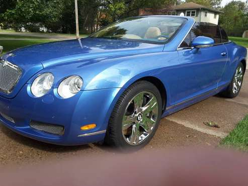 2007 Bentley Continental GT AWD Convertable for sale in MOLINE, IA