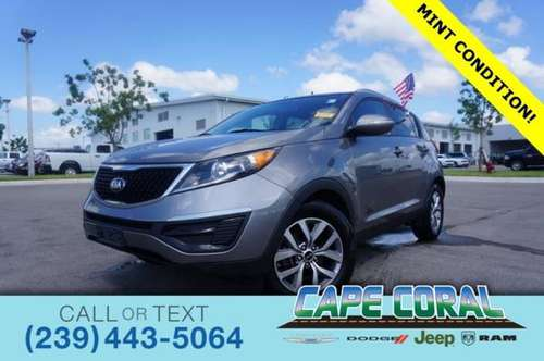 2015 Kia Sportage LX for sale in Cape Coral, FL