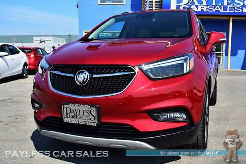 2018 Buick Encore Premium / AWD / Heated & Power Leather Seats for sale in Anchorage, AK