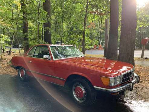 1972 Mercedes 450SL Convertible for sale in Wayland, MA