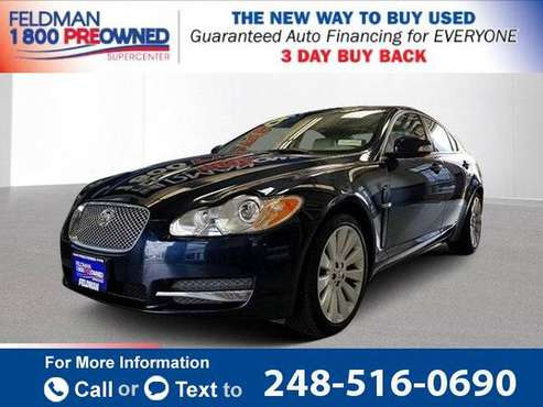 2009 Jag *Jaguar* *XF* Premium sedan Indigo Blue for sale in Waterford Township, MI