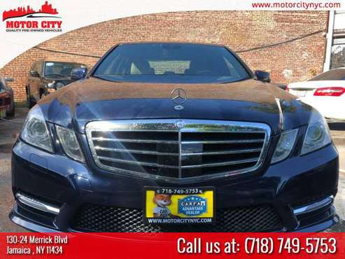 CERTIFIED 2012 MERCEDES-BENZ E550 SPORT ! AWD! FULLY LOADED! WARRANTY! for sale in Jamaica, NY