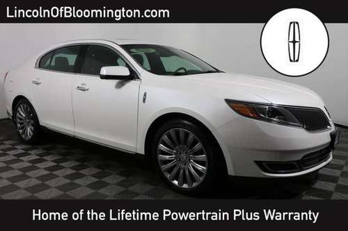 2015 LINCOLN MKS White Sweet deal*SPECIAL!!!* for sale in Minneapolis, MN