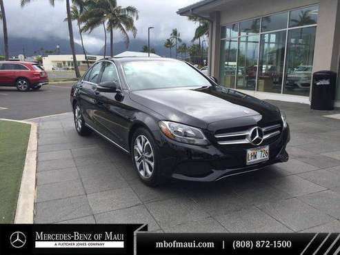 2018 Mercedes-Benz C-Class C 300 - EASY APPROVAL! for sale in Kahului, HI