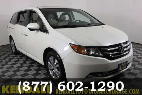 2015 Honda Odyssey White Diamond Pearl Drive it Today!!!! for sale in Anchorage, AK