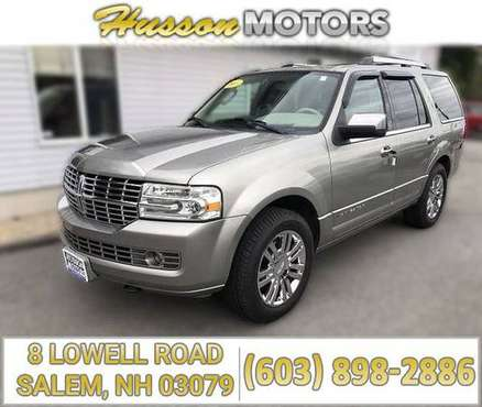 2008 LINCOLN Navigator ELITE SUV 4X4 AWD -CALL/TEXT TODAY! (603) 96 for sale in Salem, NH