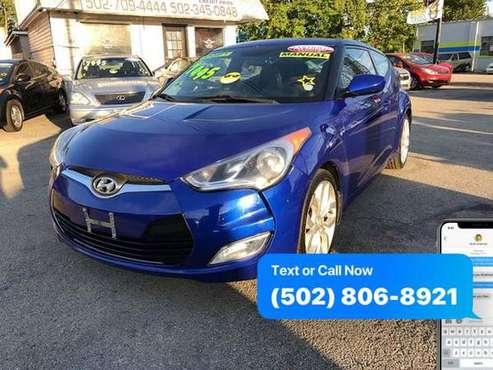 2013 Hyundai Veloster Base 3dr Coupe 6M EaSy ApPrOvAl Credit... for sale in Louisville, KY