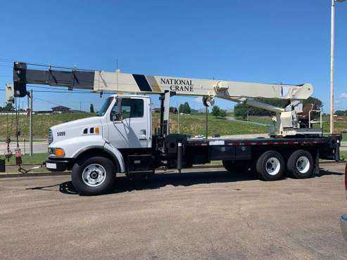 2002 Sterling National 1300 Series 30 Ton Crane Truck Boom Truck-... for sale in Jasper, MS