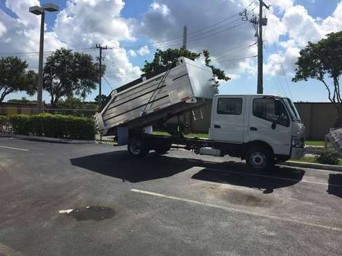 2019 Hino 155, Crewcab Aluminum dump 14ft. Mike for sale in Fort Myers, FL